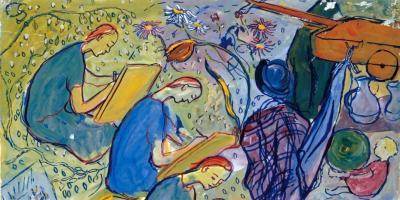 VOL | Schilderen als Charlotte Salomon, workshop voor volwassenen