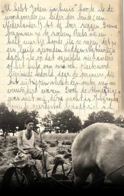 Livestream | Boekpresentatie: Bernie's oorlog 1942-1945. Dagboek van een Joodse boerenknecht.