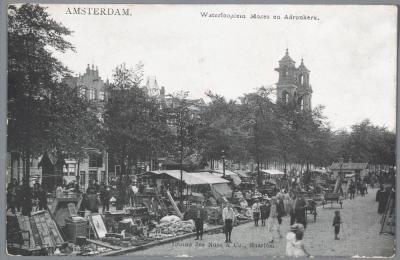 Van vodden tot vintage | drie lezingen over de geschiedenis van de handel op het Waterlooplein.