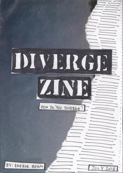 Zine workshop, in association with the IHLIA